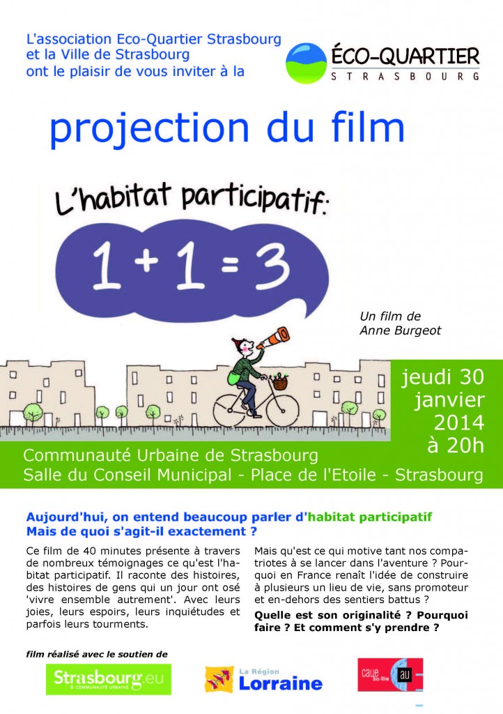 Invit projection Strasbourg
